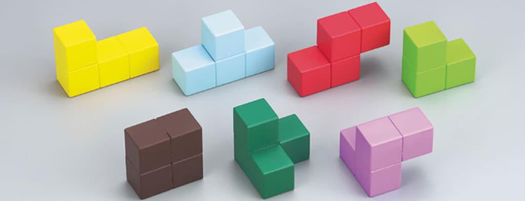 賢人パズルの7つのブロック